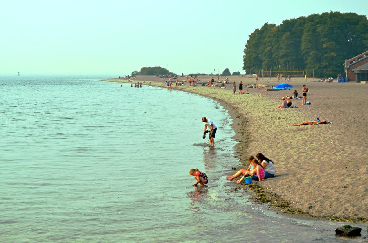 Golden Gardens Park Beach