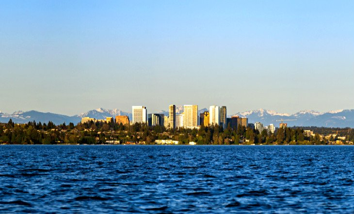Bellevue Skyline from Madrona Park