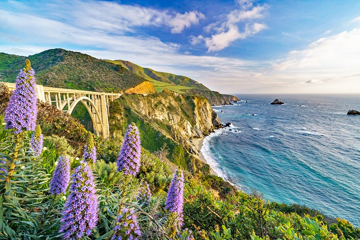 Bixby Bridge on the Pacific Coast Highway south of Carmel