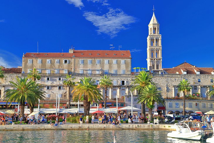 Split's historic Old Town