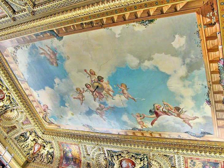 Ceiling in the Suermondt-Ludwig-Museum