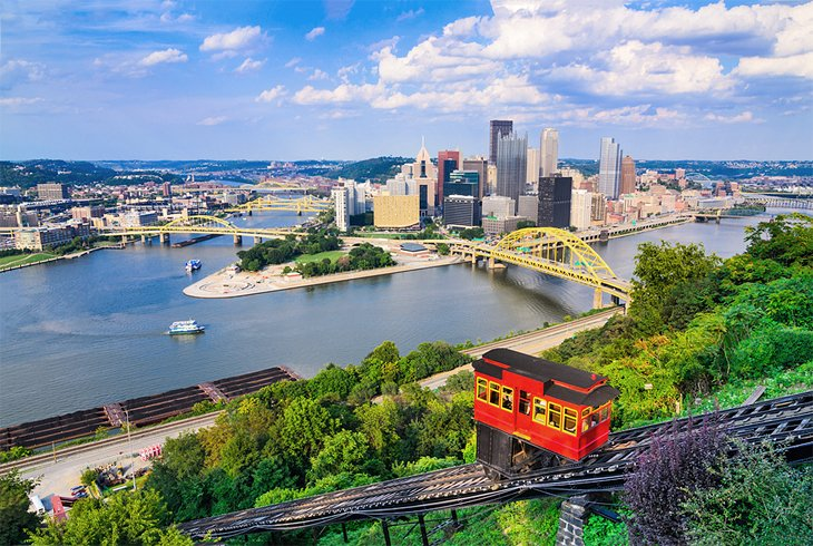 Duquesne Incline and downtown