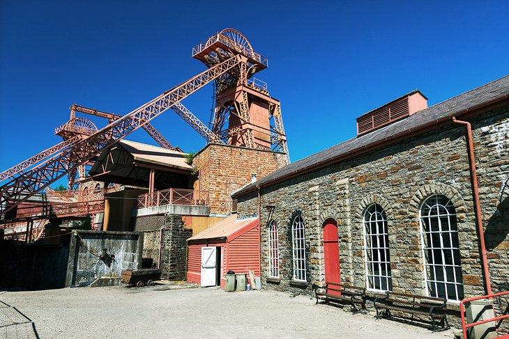 Colliery Pit, Rhondda Heritage Park