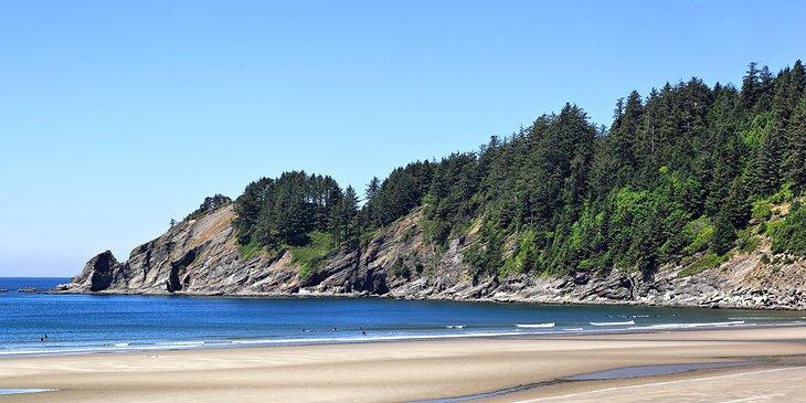 Playa de arena corta