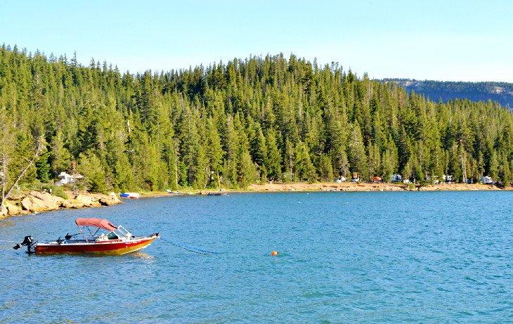 Camping en el lago Paulina y el lago Little Crater