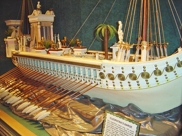 Cleopatra's Barge at Ripley's Believe it or Not