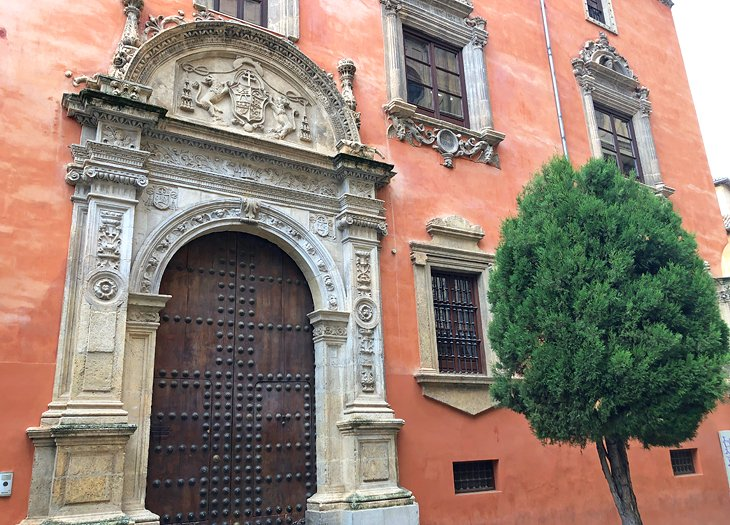 Beautiful building near Granada Cathedral