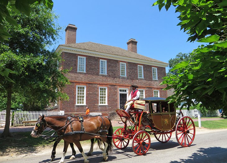 George Wythe House at Colonial Williamsburg