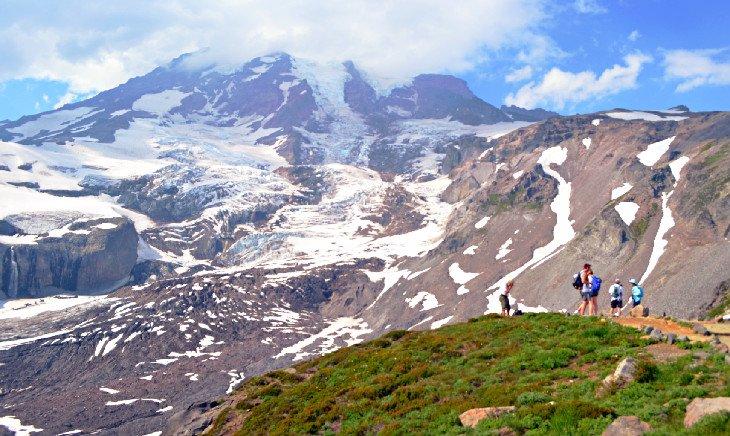 Monte Rainier, Skyline Trail