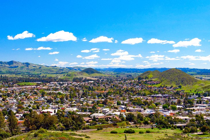 View of San Luis Obispo from Cerro San Luis