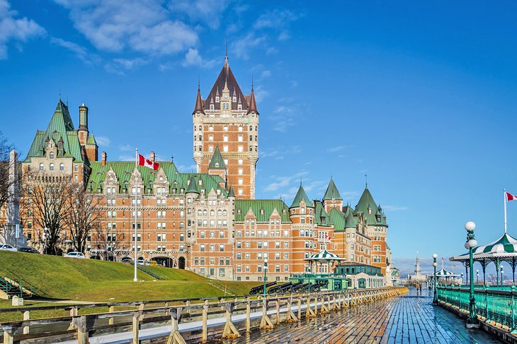 Frontenac Castle and Dufferin Terrace