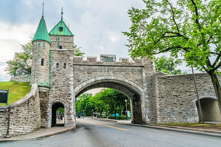 Entrance to the Citadel of Québec