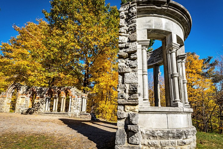Abbey Ruins at the Mackenzie King Estate in Gatineau Park