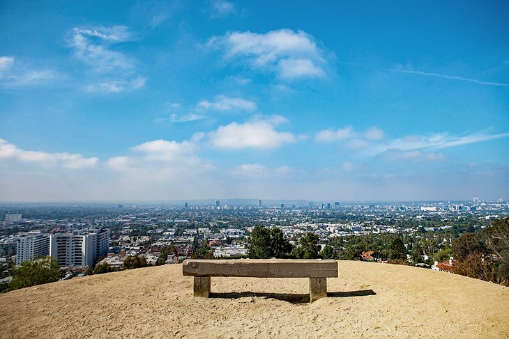 View of Los Angeles from Runyon Canyon Park