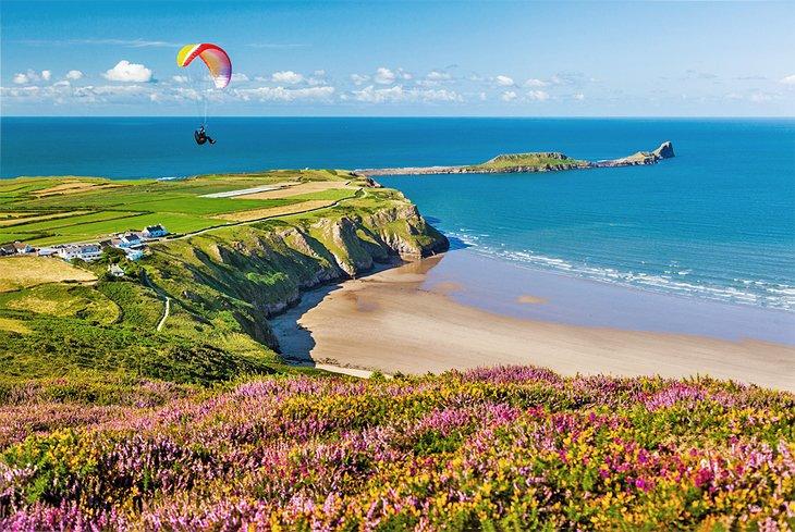 Bahía Rhossili, Gales