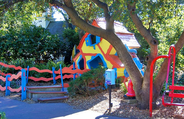 A storybook house at Children's Fairyland