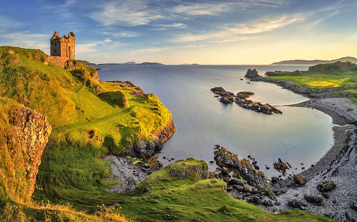 Gylen Castle on the Island of Kerrera