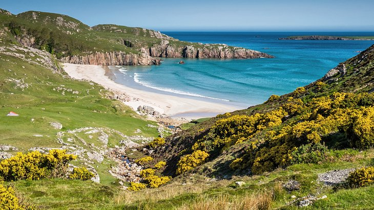 9 Top Rated Beaches In Scotland