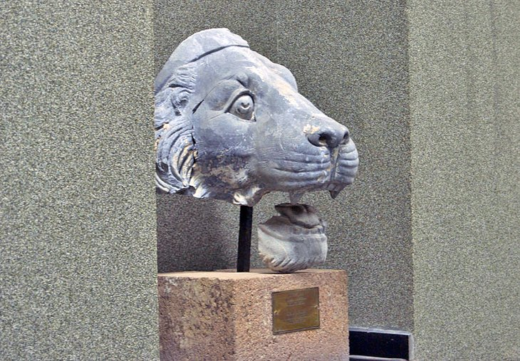 Lion's head from the Pergamum altar of Zeus