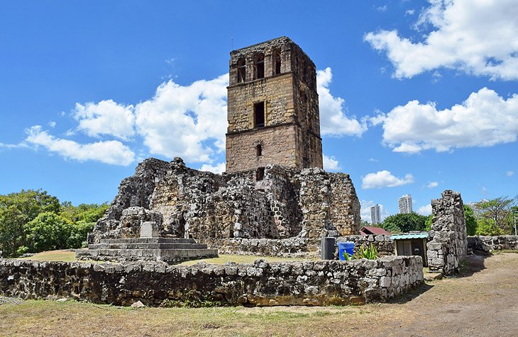 Ruins in Panama Viejo