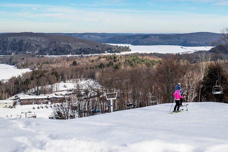Área de esquí de Sir Sam