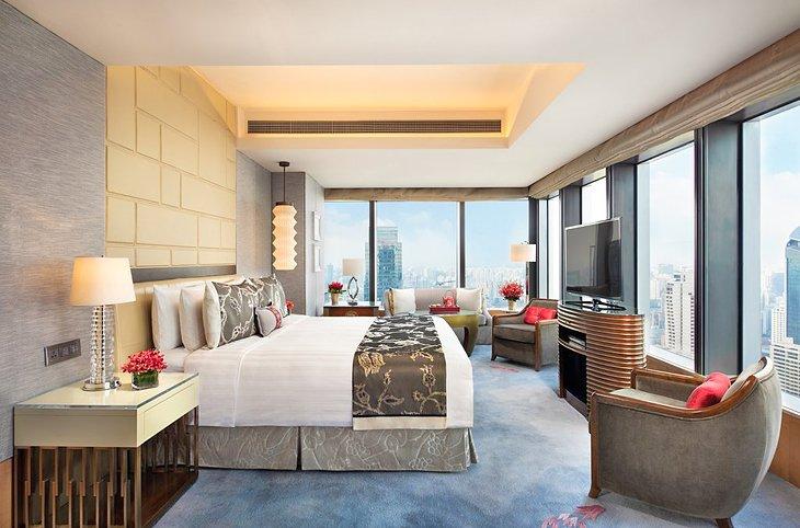 Fuente de la foto: Jing An Shangri-La, West Shanghai