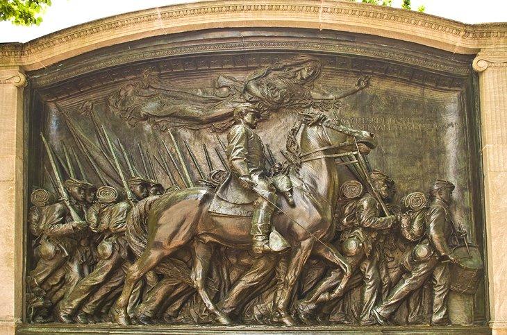 Monumento al Regimiento Negro Robert Gould Shaw