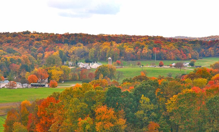 Colores de otoño en Malabar Farm