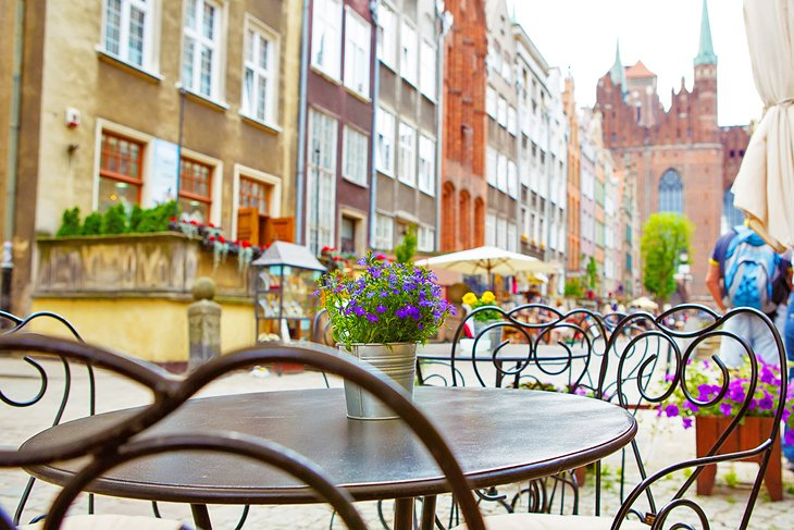 Cafe in Old Town Prague