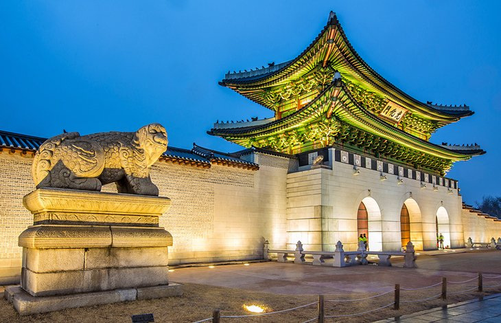 Places south top korea in 5 of