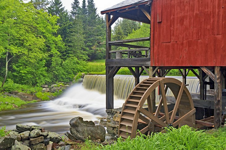 Old Grist Mill in Weston