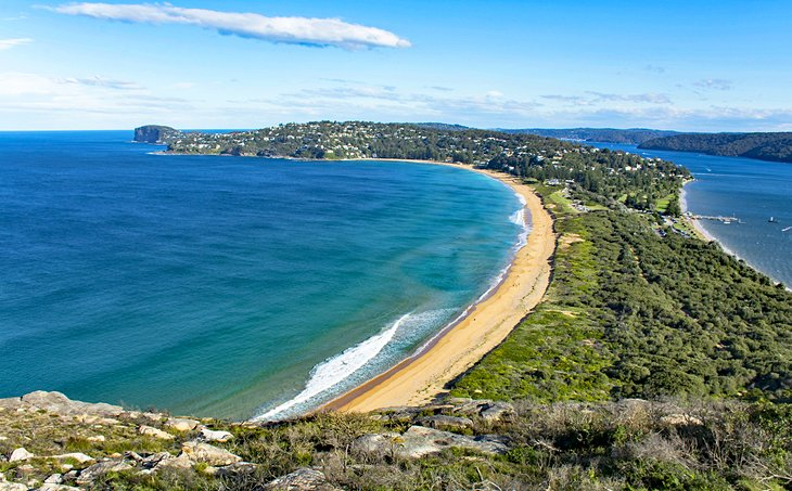 Palm Beach and Pittwater