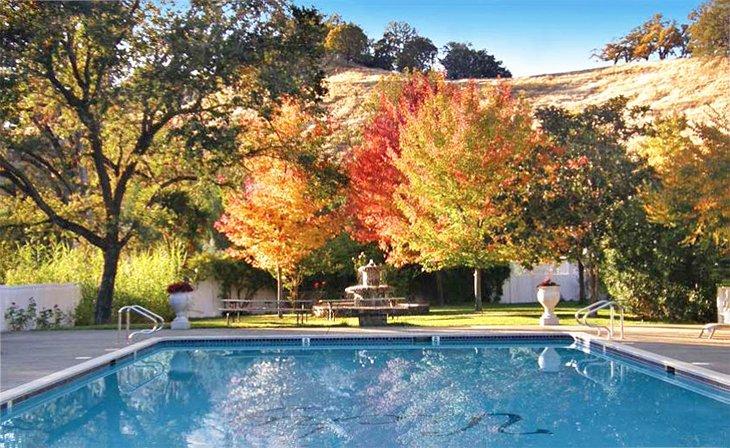 Piscina en Vichy Springs Resort
