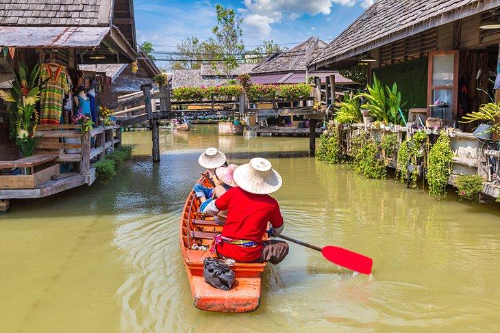 Частная экскурсия на плавучий рынок Паттайи
