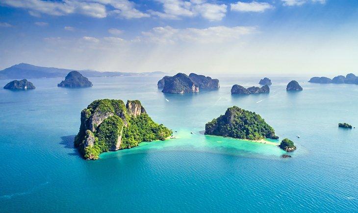 Острова, окружающие Ко Яо Ной, Пхукет.