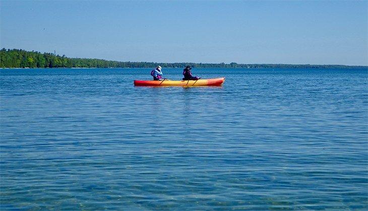 Kayak en Fish Creek