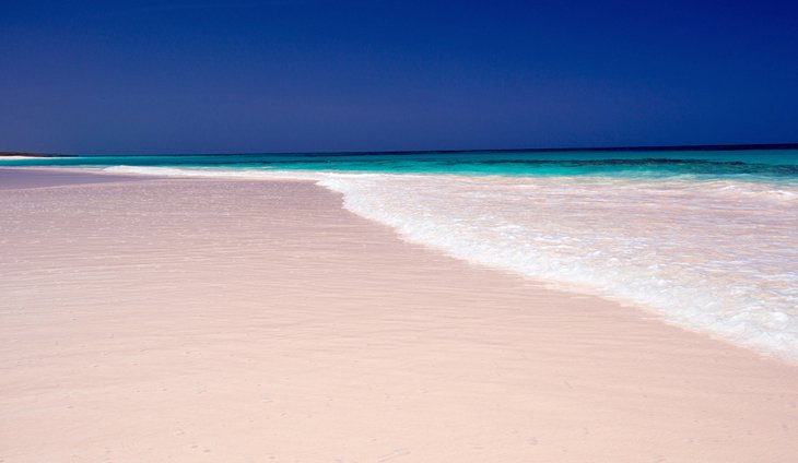 Praia Pink Sands, Harbour Island