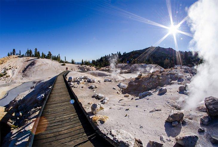 Región de Bumpass Hell del Parque Nacional Volcánico Lassen