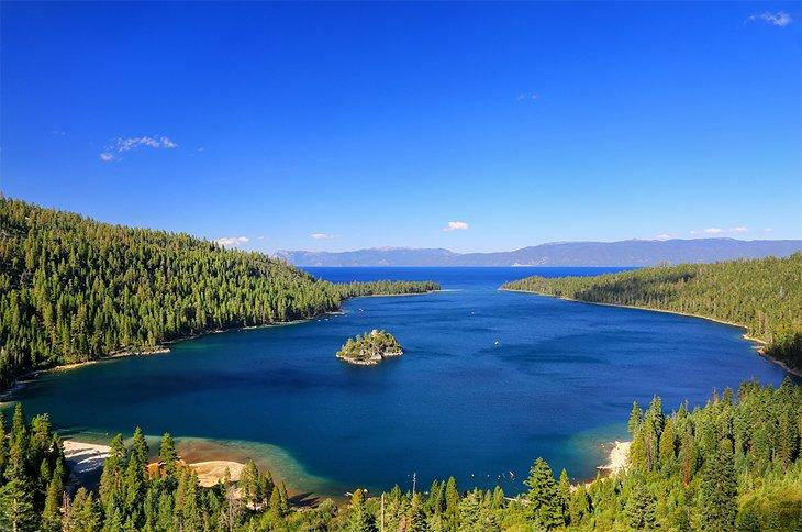 Bahía Esmeralda, Lago Tahoe