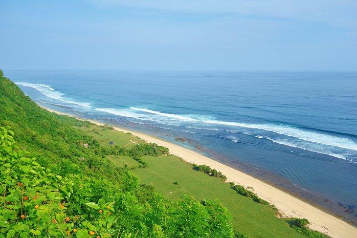 Playa apartada de Nyang Nyang