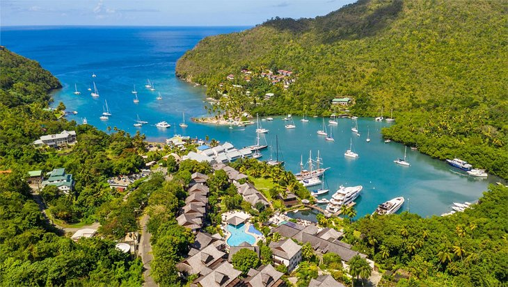 Photo Source: Marigot Bay Resort and Marina