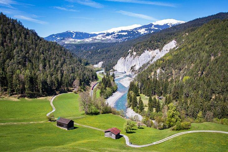 Vistas al Ruinaulta (Gran Cañón Suizo)