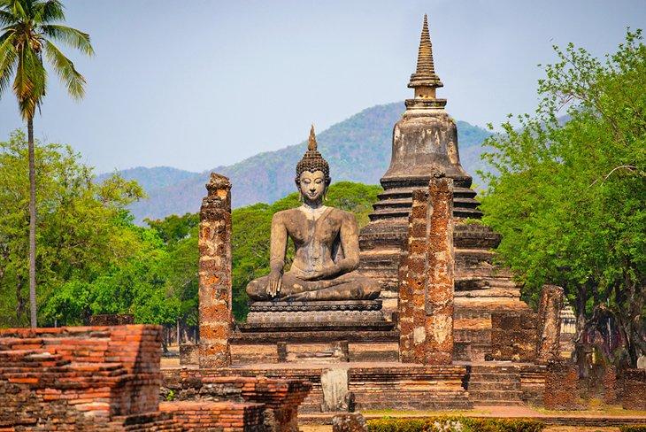 شهر قدیمی سوخوتای تایلند