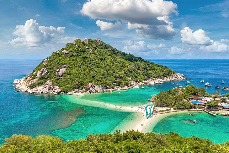 Остров Нан Юань, Ко Тао.
