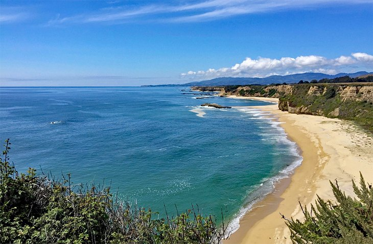 Playa estatal Half Moon Bay