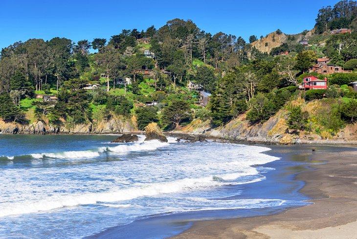 Muir Beach en el condado de Marin