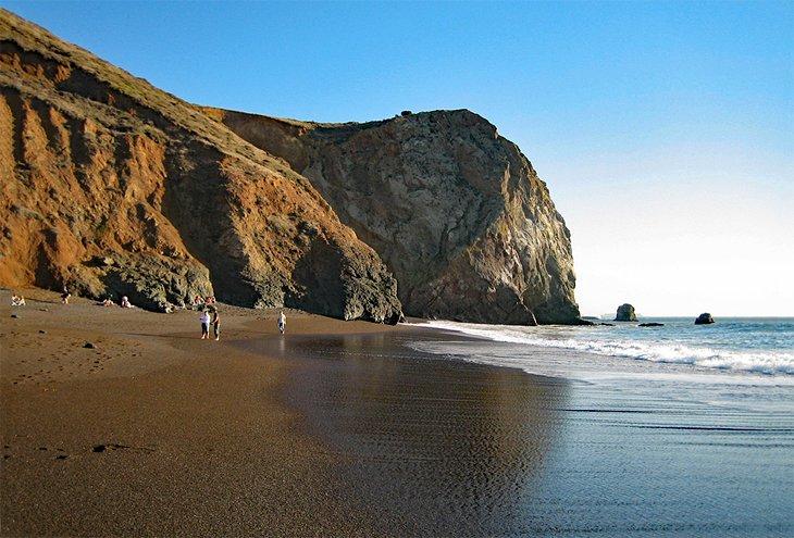 Tennessee Beach en el área recreativa Golden Gate