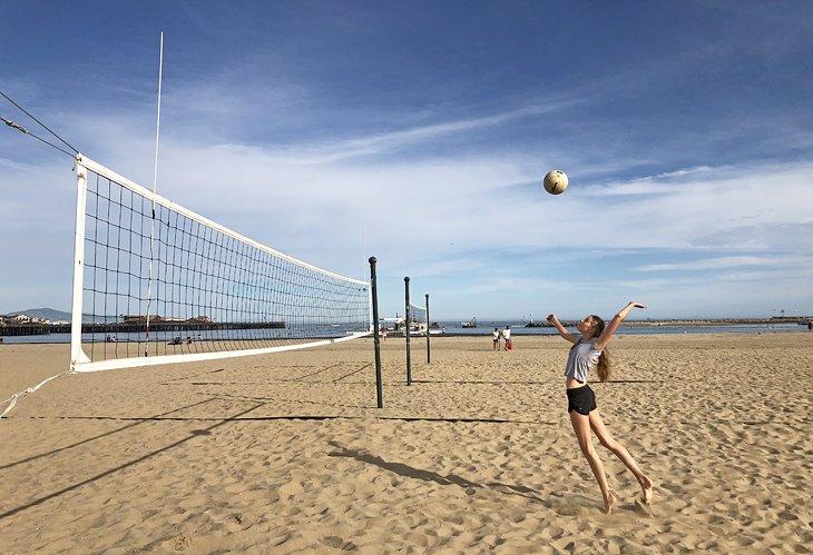 Voleibol en West Beach