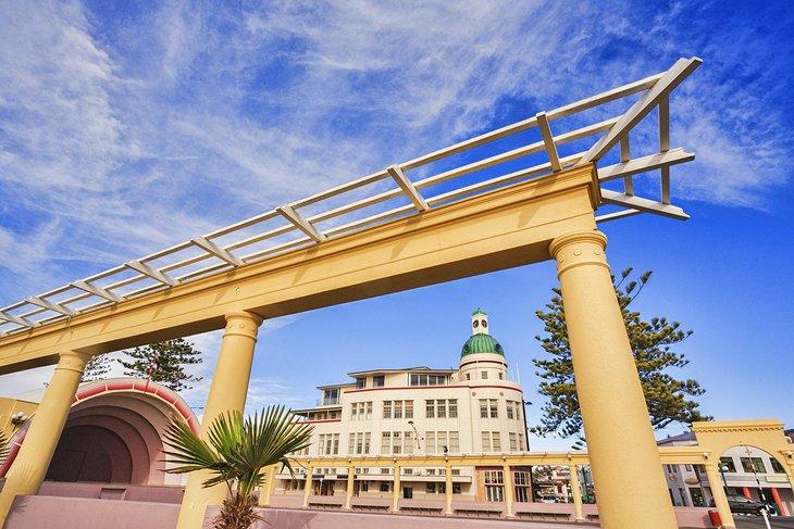 Art Deco buildings in Napier