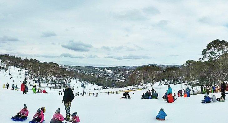 Selwyn Snow Resort, Parque Nacional Kosciuszko, NSW